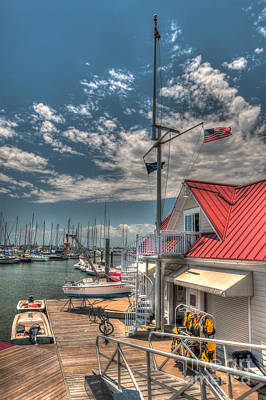 Photograph - Sailing School by Dale Powell