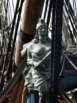 Photograph - Sailing Ship Maiden Head by Susan Garren