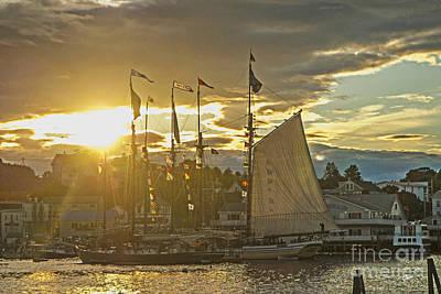 Photograph - Sailing Ships  by Alana Ranney
