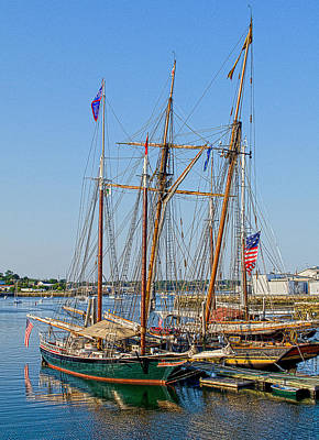 Photograph - Sailing Ships by Rick Mosher