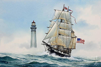 Sailing Spirit Art Print by James Williamson