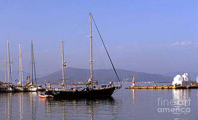 Photograph - Sailing The Aegean by Paul Cowan