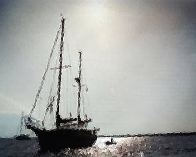 Photograph - Out Sailing The Seas by Belinda Lee