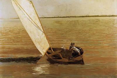 Sailing Art Print by