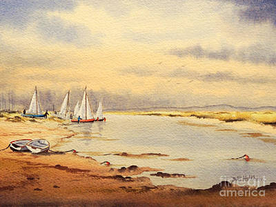 Yacht Club Painting - Sailing Time by Bill Holkham