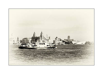 Photograph - Sailing Up The Mersey by Spikey Mouse Photography