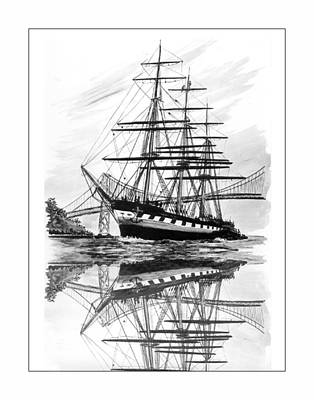 Balclutha Returns To San Francisco Art Print by Jack Pumphrey
