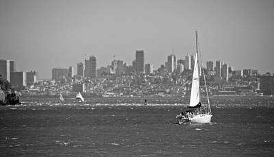 Photograph - Sailing With A View by Eric Tressler