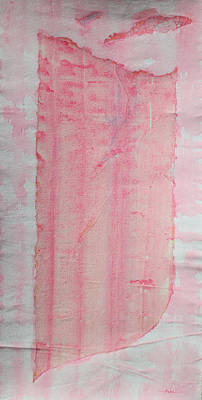 Sailing With Clouds In Pink Print by Asha Carolyn Young