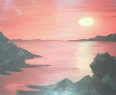 Yello Painting - Sailors Delight by Amanda Rardin