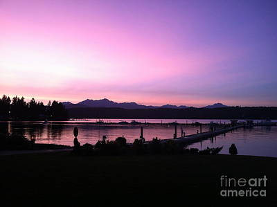 Photograph - Sailor's Delight At Alderbrook by Terri Thompson