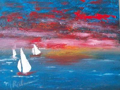 Sailor's Delight Art Print by Margie Ridenour