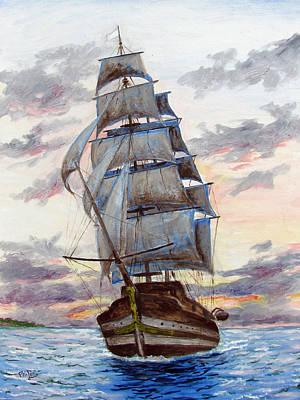 Sailors Dream Original by Philip Lee