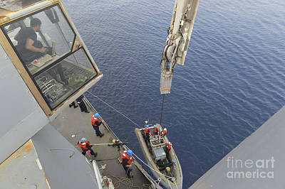 Inflatable Photograph - Sailors Return To Their Ship by Stocktrek Images
