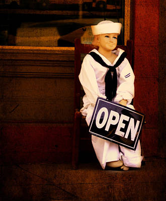 Photograph - Sailors Welcome Cropped by Lesa Fine