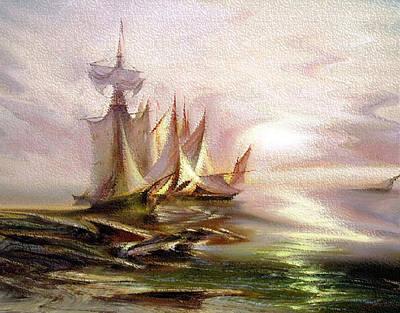 Sails Original by Bruce Iorio