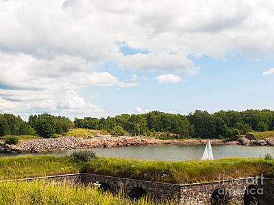 Photograph - Sails In The Sveaborg by Ismo Raisanen