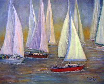 Painting - Sails by Loretta Luglio