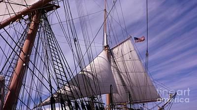 Keith Richards - Sails Ready by Susan Garren