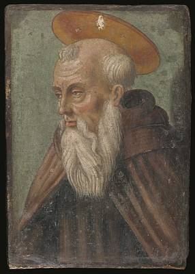 Abbot Painting - Saint Anthony Abbot by Celestial Images