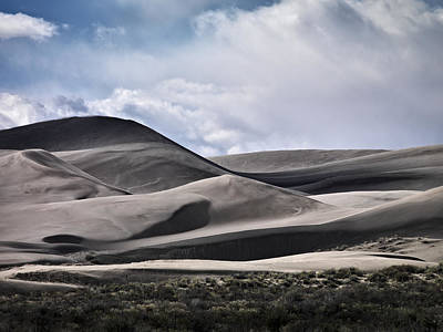 Photograph - Saint Anthony Dunes by Leland D Howard