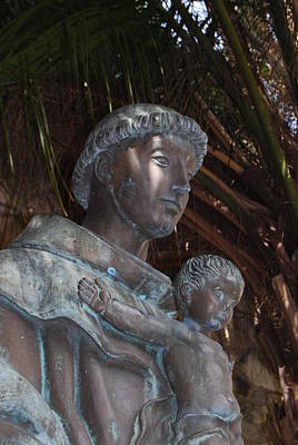 Amature Photograph - Saint Anthony Of Padua by Jeffrey Kiehl