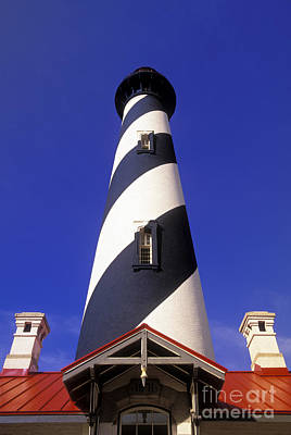 Photograph - Saint Augustine Lighthouse - Fs000804 by Daniel Dempster