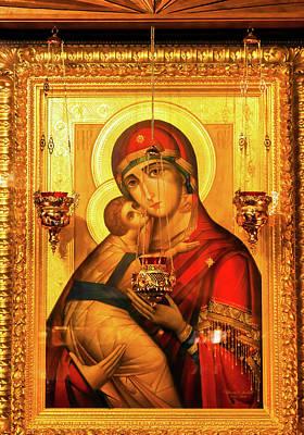 Saint Barbara, Saint Michael Cathedral Art Print