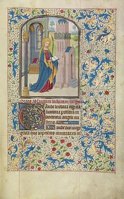 Saint Barbara Wall Art - Drawing - Saint Barbara Willem Vrelant, Flemish, Died 1481 by Litz Collection