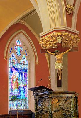 Saint Bridgets Cathedral Art Print