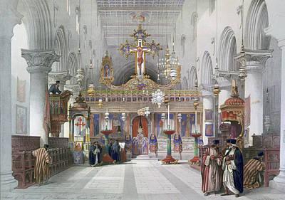 Orthodox Painting - Saint Catherine Chapel by Granger