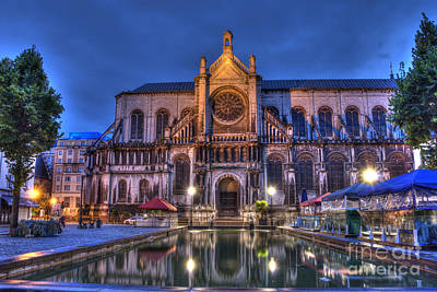 Brussels Photograph - Saint Catherine Church. Brussels by Juli Scalzi