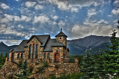 Saint Catherine Photograph - Saint Catherine Of Siena Chapel by Alex Owen