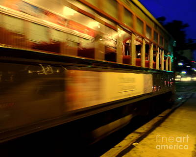 Photograph - New Orleans Saint Charles Avenue Street Car In  Louisiana #7 by Michael Hoard