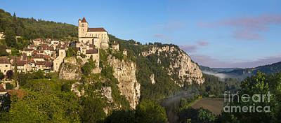 Saint Cirq Panoramic Art Print