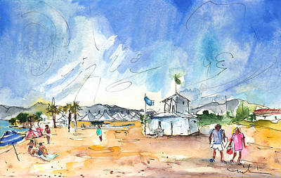 South Of France Painting - Saint Cyprien 01 by Miki De Goodaboom