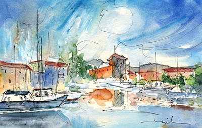 South Of France Painting - Saint Cyprien 02 by Miki De Goodaboom