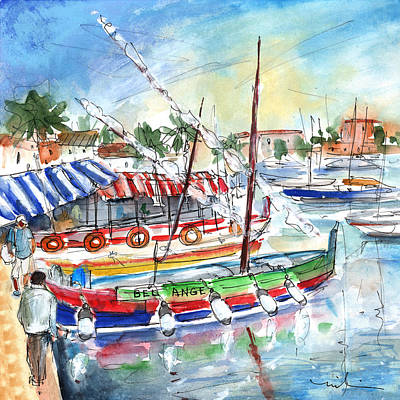 South Of France Painting - Saint Cyprien 03 by Miki De Goodaboom