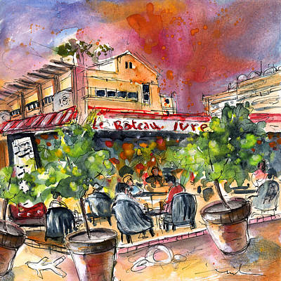 South Of France Painting - Saint Cyprien 04 by Miki De Goodaboom