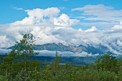 Elias Digital Art - Saint Elias Mountains In Kluane National Park-yk  by Ruth Hager