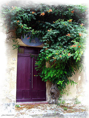 Photograph - Saint Emilion Door by Joan  Minchak