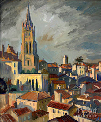 Painting - Saint Emilion by Katia Weyher