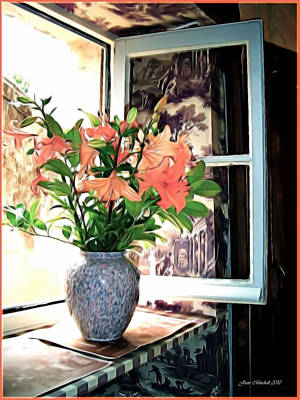 Photograph - Saint Emilion Window by Joan  Minchak