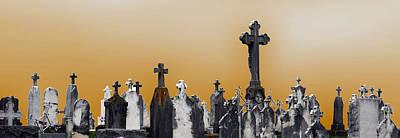 Saint Ferdinand Cemetery Original by John Hanou