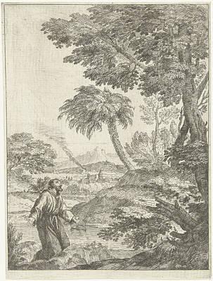 Saint Francis, Adriaen Van Der Kabel Art Print