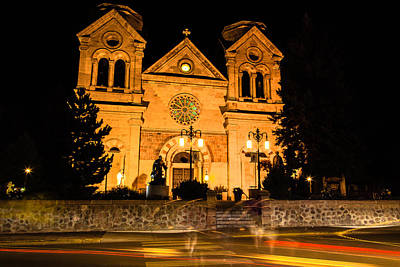 Photograph - Saint Francis Cathedral by Ben Graham