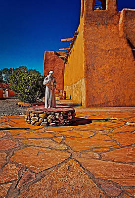 Mission Photograph - Saint Francis by Charles Muhle