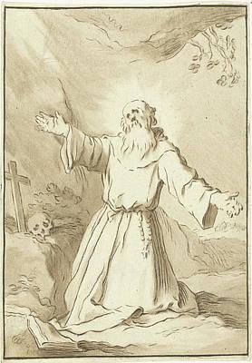 Saint Francis, Jurriaan Cootwijck Art Print