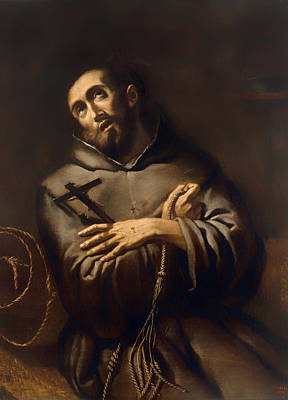 Christian Artwork Painting - Saint Francis Of Assisi by Mountain Dreams
