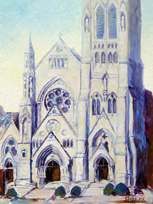 Saint Francis Xaviere College Church - St.louis Art Print
